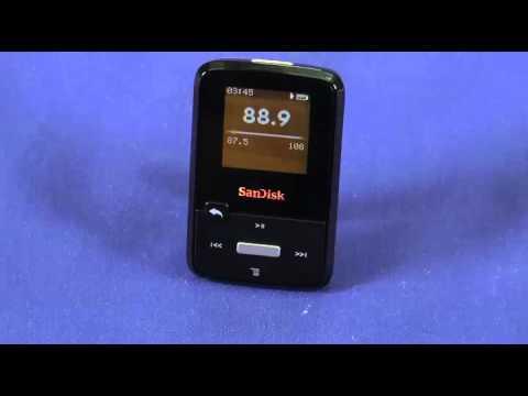 SanDisk Sansa Clip Zip video review