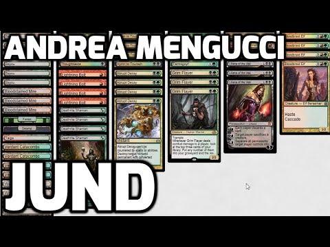 Channel Mengucci - Legacy Jund (Deck Tech & Matches)