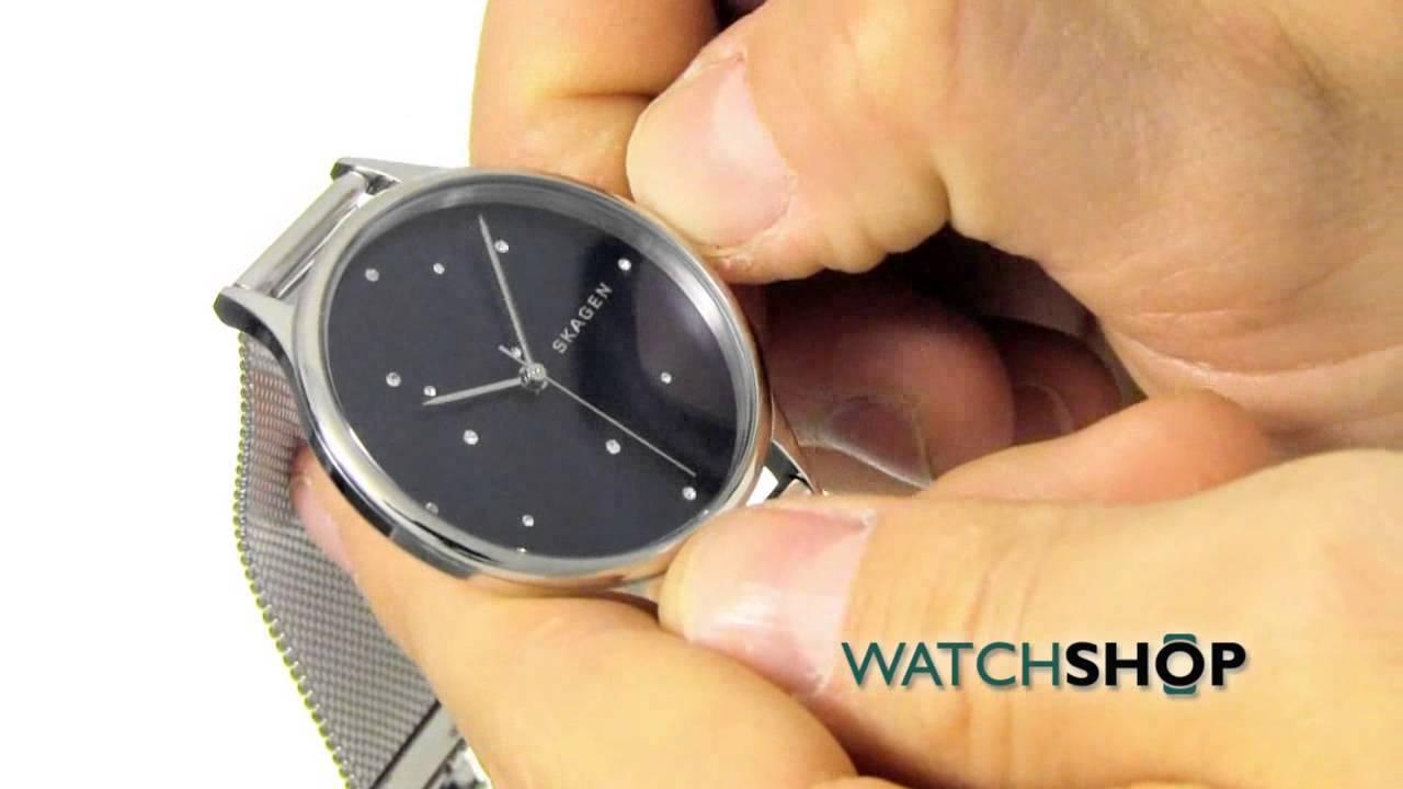 Men's Skagen Watch (958XLSL) - YouTube