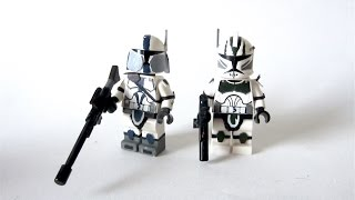 custom LEGO:  Star Wars - Elite 41st Legion Commander  501st Sniper - Fan Review