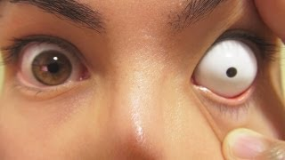 How to: Insert And Remove White Sclera Contact Lenses (Fxeyes) thumbnail