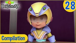 Vir The Robot Boy | Hindi Cartoon | Action Cartoons for Kids | Compilation #28 | 3D Cartoons