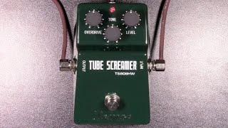 Ibanez TS808HW Hand-Wired Tube Screamer Review - BestGuitarEffects.com