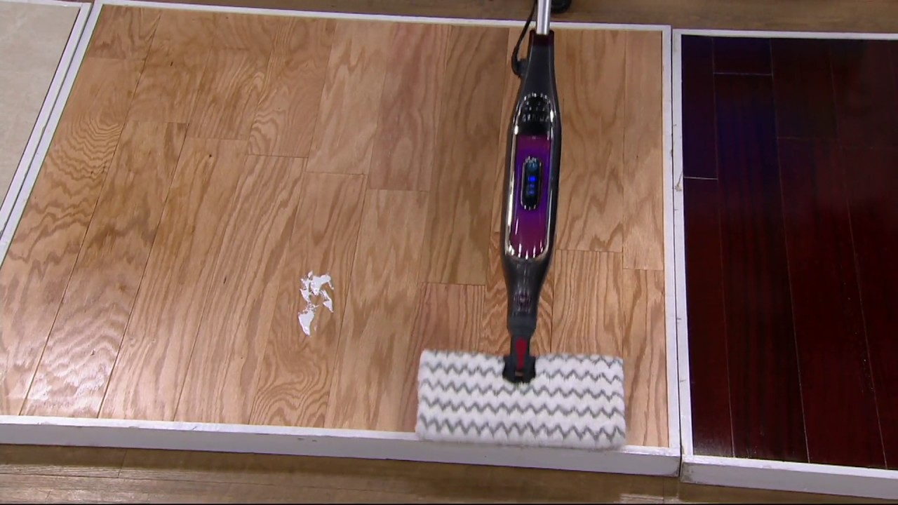 Does The Shark Steam Pocket Mop Work On Laminate Flooring