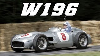 Mercedes-Benz W196 + Streamliner with Stirling Moss, Stewart, Mass and Wolff (Goodwood 2015)
