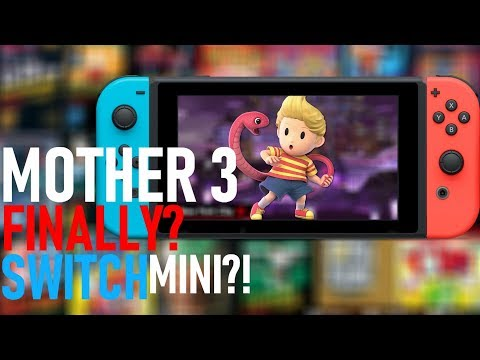 Did Nintendo HINT Mother 3 in 2019? Nikkei: Switch Mini + Enhanced NSO & Switch Surprises   PE NewZ