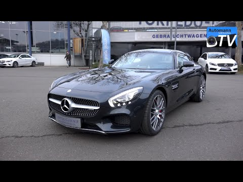 2015 Mercedes AMG GT S (510hp) - CHECK & SOUND (1080p) - YouTube