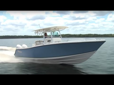 MAKO Boats 284 CC Review By PowerBoat Television