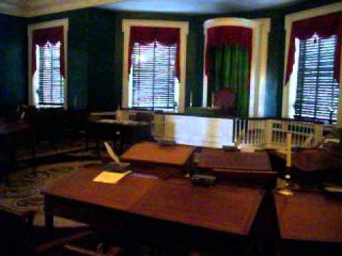 The First Senate Chamber in the U S
