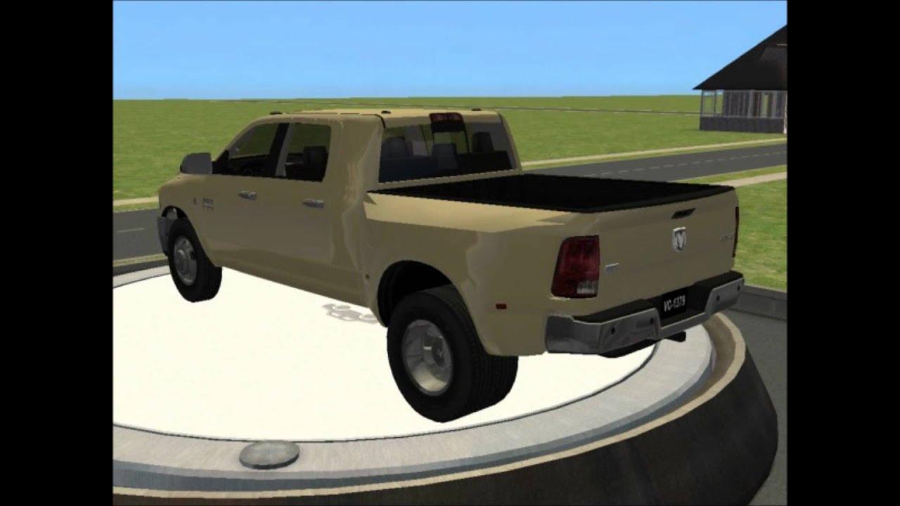 Sims 2 car conversion by vovillia corp 2010 dodge ram 3500 laramie crew cab