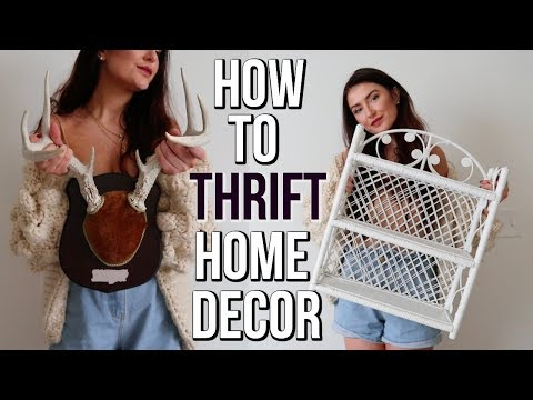 HOW TO FIND THE BEST STUFF AT THE THRIFT STORE || Sarah Belle