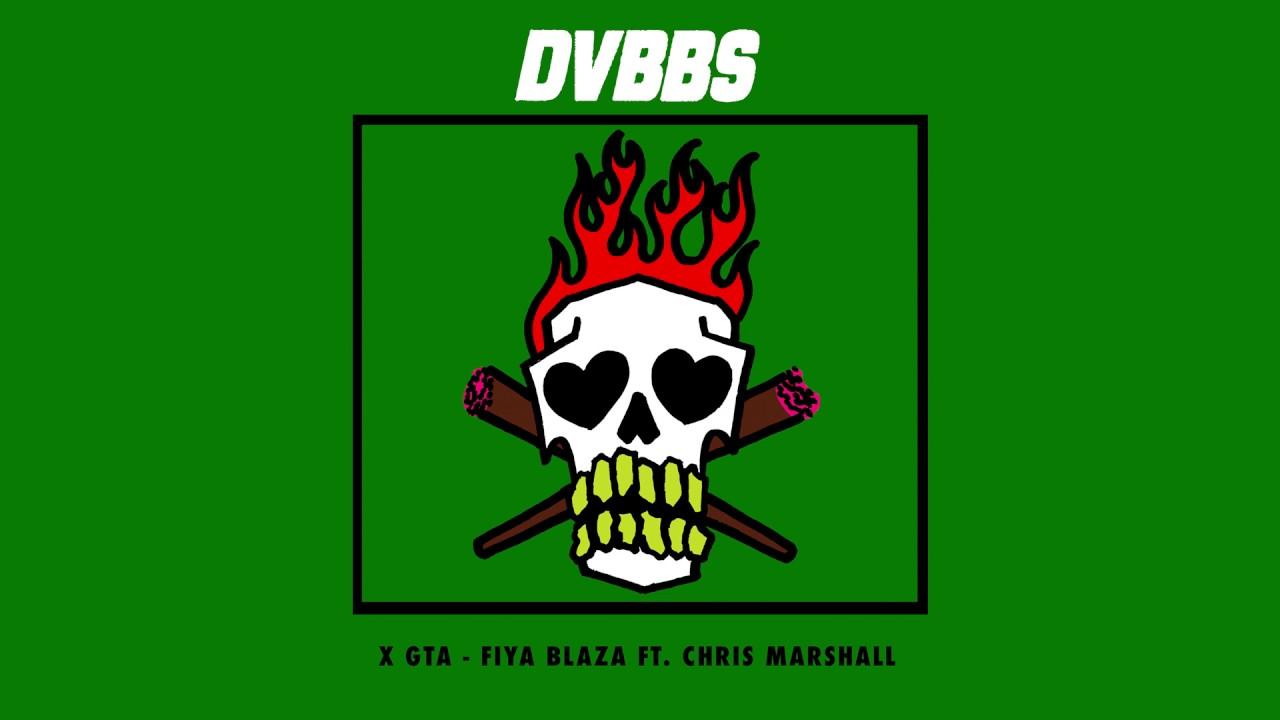 dvbbs gta fiya blaza feat chris marshall cover art ultra