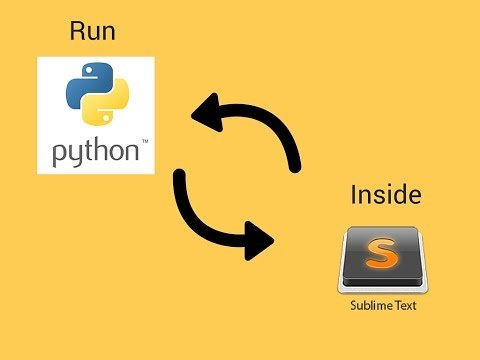 How to run Python inside Sublime Text | Windows