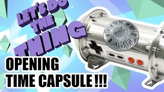 THE ULTIMATE EPIC UNBOXING - Video Game Time Capsule!!!