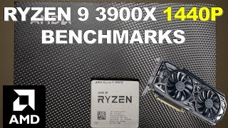 Ryzen 9 3900X 1440P Gaming Benchmarks and Review