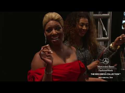"""THE RED DRESS COLLECTION"" New York Fashion Week Fall Winter 2014 2015 by Fashion Channel"
