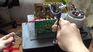 Ремонт акустической системы Microlab x16(, 2014-05-31T14:18:31.000Z)
