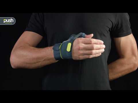 Push Sports Thumb Brace designed for athletes - fitting instructions