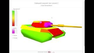 Бронирование танка Leopard 1 [ WIKI FAN ](Наша группа http://vk.com/fanwiki вступайте ! Не пожалеете !, 2013-04-30T11:33:16.000Z)