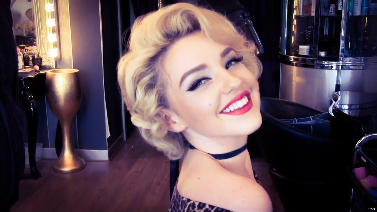 rockabilly and vintage hairstyles for short hair