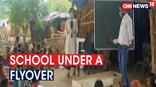 25-Year-Old Teacher Educates 250 Children Free Of Cost At Informal Makeshift School Under Flyover