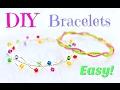DIY bracelets | No Tools! | Simple DIY