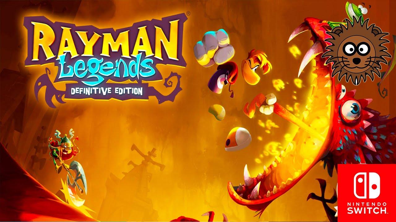 Rayman Legends: Definitive Edition Demo Gameplay Español - Nintendo Switch