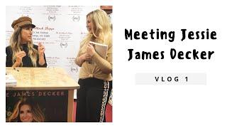Meeting Jessie James Decker | NYC Emily | Vlog #1
