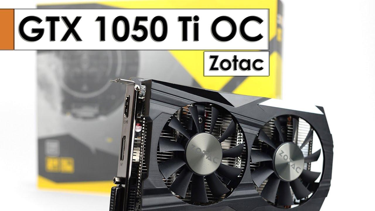 ZOTAC GeForce GTX 1050 OC Edition 2GB