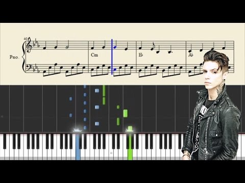Andy Black - We Don't Have To Dance - Piano Tutorial + Sheets