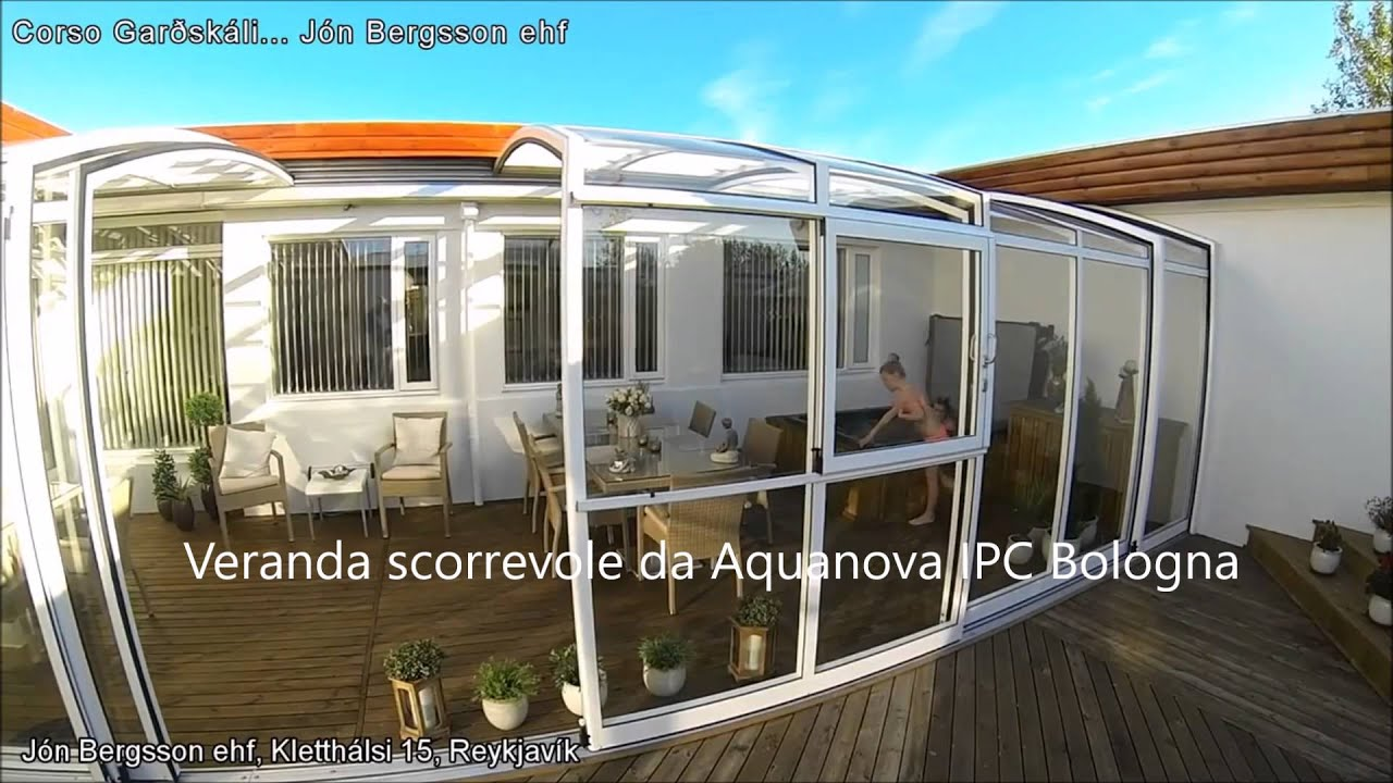 veranda terrazzo pergola per i terrazzi coperture scorrevoli coperture per piscine. Black Bedroom Furniture Sets. Home Design Ideas