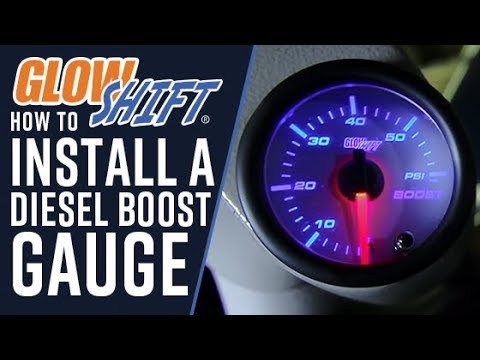 How To Install A Diesel Boost Gauge