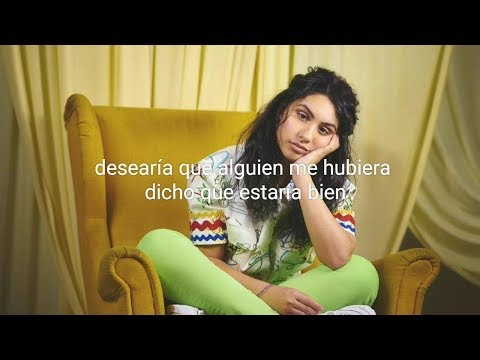 my kind / alessia cara (letra en español)