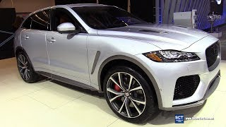 2019 Jaguar F Pace SVR - Exterior and Interior Walkaround - 2019 Montreal Auto Show