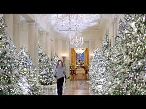 La Navidad llega a la Casa Blanca de la mano de Melania
