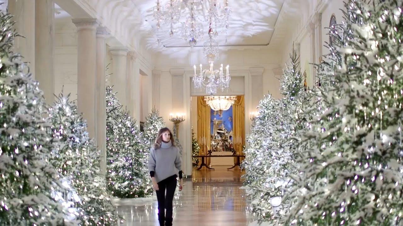 La navidad llega a la casa blanca de la mano de melania - La casa de la navidad ...