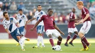 HIGHLIGHTS: David Beckham & LA Galaxy face Omar Cummings & the Colorado Rapids, MLS