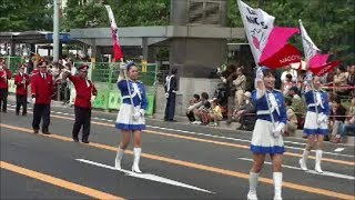 2013年10月19日・・第59回名古屋まつりの初日に名古屋駅前をスタートした、フラワーカーパレードの模様です。