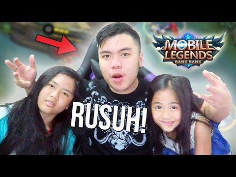 KETIKA PUNYA 2 ADIK CEWE MAIN ML SEMUA!?!? - Mobile Legends Indonesia #61