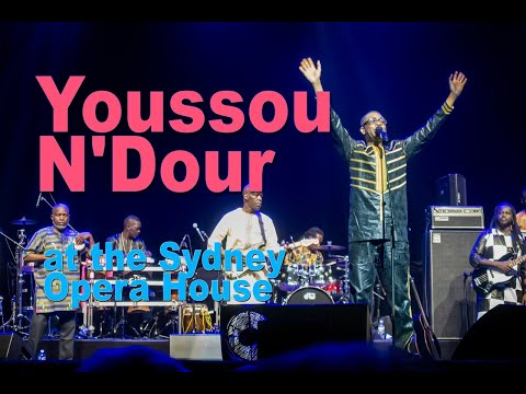 Youssou N'Dour live at the Sydney Opera House