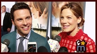THE BEST OF ME Premiere Interviews: James Marsden, Michelle Monaghan, Liana Liberato