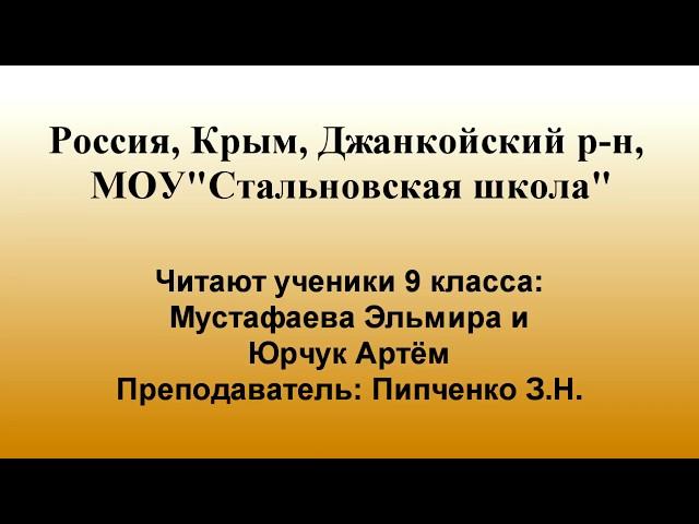 Изображение предпросмотра прочтения – ЗояПипченко читает произведение «Поэт» А.А.Блока