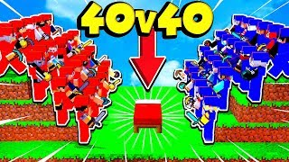 Baixar 40 vs 40 JOGADORES NO BED WARS!