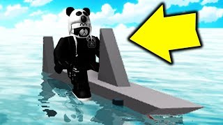 RIDING A SHARK IN ROBLOX BOOGA BOOGA! | New Update