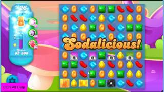 Candy Crush Soda Saga Level 1242 NO BOOSTERS Cookie