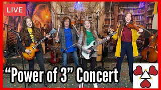 """K3 Sisters Band LIVE """"Power of 3"""" Concert 5/8/21"""