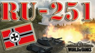 World of Tanks /// Ru 251 - Ace Tanker, Orlik