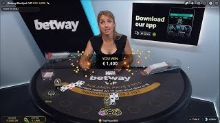 Live BlackJack - 400 € to 3255 € - Big Side Bet Win - Must See