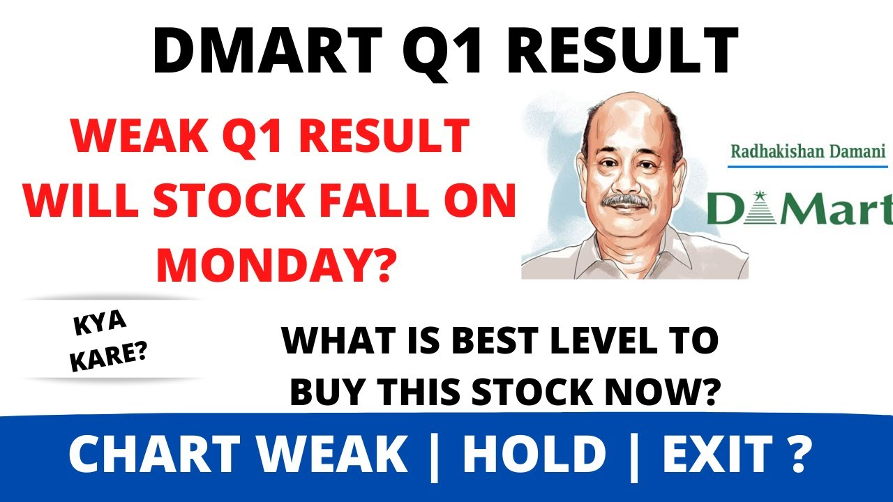 DMART Q1 Result Analysis🔥 | Dmart share news | Dmart share Levels and Targets | Latest news in Hindi