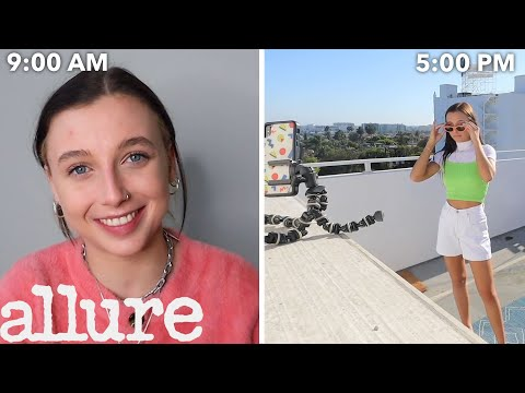 Emma Chamberlain's Entire Routine, From Waking Up to Playing Fortnite | Allure
